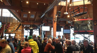 Photo of Apres Ski Bar Merlins Bar & Grill Whistler at 4553 Blackcomb Way, Whistler, BC V0N 1B4, Canada