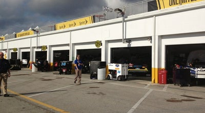 Photo of Racetrack Sprint Cup Garage at Daytona International Speedway, Central Volusia, FL 32124, United States