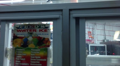 Photo of Dessert Shop Freds Water Ice at 5400 Chester Ave, Phila, PA 19143, United States