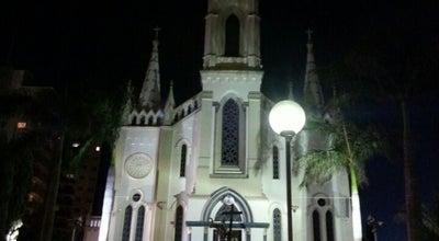 Photo of Church Catedral Metropolitana do Sagrado Coração de Jesus at Pça. Rui Barbosa, Uberaba, Brazil