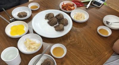 Photo of Ramen / Noodle House 하르방밀면 at 대정읍 동일하모로 229, 서귀포시, South Korea