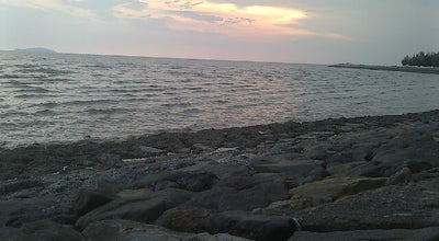 Photo of Beach Pontian Seaside at Malaysia