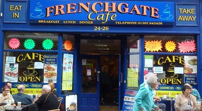 Photo of Cafe Frenchgate Cafe at 24 Frenchgate, Doncaster DN1 1QQ, United Kingdom