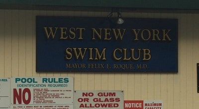 Photo of Pool West New York Swim Club at Weehawken, NJ 07093, United States