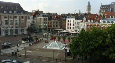 Photo of Plaza Place Rihour at Place Rihour, Lille 59000, France