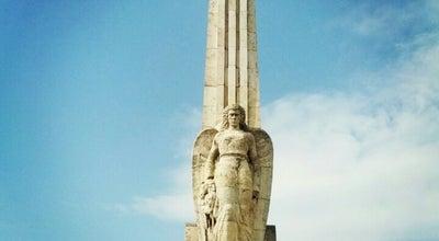"Photo of Monument / Landmark Obeliscul ""Horea, Cloșca și Crișan"" at Cetatea Bastionară Alba Iulia, Alba Iulia, Romania"
