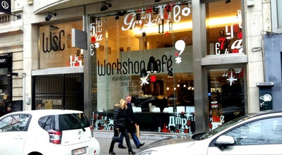Photo of Coffee Shop Workshop Café at Av. Louise 146 Louizalaan, Ixelles / Elsene 1050, Belgium