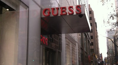 Photo of Other Venue GUESS at 575 5th Ave, New York, NY 10017