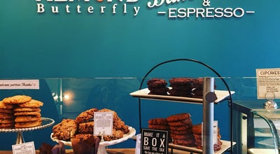 Photo of Cafe Almond Butterfly Bakery at 100 Harbord St, Toronto M5S 1G6, Canada