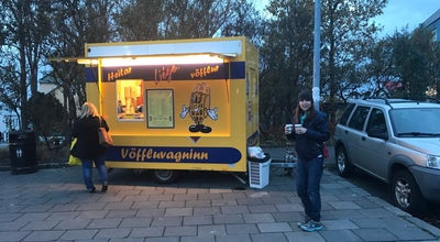 Photo of Food Truck Vöffluvagninn at Reykjavik 101, Iceland