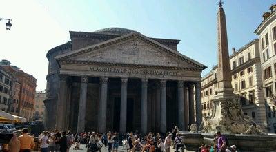 Photo of Outdoors and Recreation Fontana del Pantheon at Piazza Della Rotonda, Rome, Italy