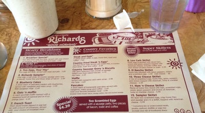 Photo of American Restaurant Richards Restaurants at 1803 S Anderson St, Elwood, IN 46036, United States