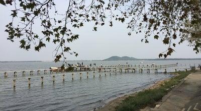 Photo of Lake 凌波门 at 东湖路武汉大学湖滨, Wuhan, ch 430079, China