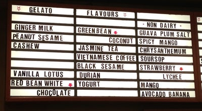 Photo of Ice Cream Shop Kekou Gelato House at 13 Baldwin St., Toronto, ON M5T 1L1, Canada