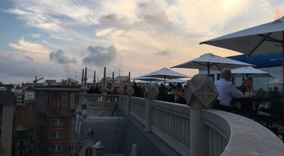 Photo of Roof Deck Terraza Casa Fuster at Hotel Casa Fuster, Barcelona, Spain