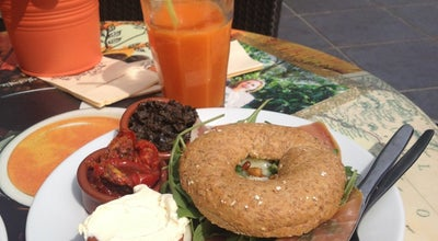 Photo of Bagel Shop Bagels & Beans at Piet Heinplein 3, Den Haag 2518 CA, Netherlands