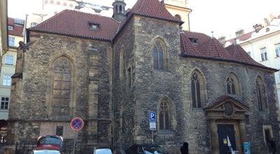Photo of Church St. Martin in the Wall Church at Martinska 8, Prague, Czech Republic