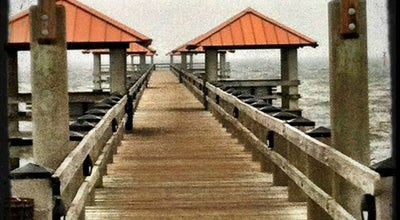 Photo of Pier Ken Combs Pier at Courthouse Road, Gulfport, MS, United States