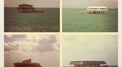 Photo of Harbor / Marina Stiltsville, Key Biscayne, Miami at Biscayne Channel, Miami, FL, United States