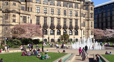 Photo of Garden Peace Gardens at Pinstone St., Sheffield S1 2HH, United Kingdom