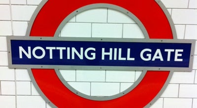 Photo of Subway Notting Hill Gate London Underground Station at Notting Hill Gate, Notting Hill W11 3HT, United Kingdom