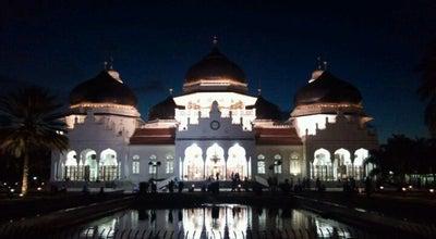 Photo of Mosque Masjid Raya Baiturrahman at Jl. Mohd. Jam, Banda Aceh, Indonesia