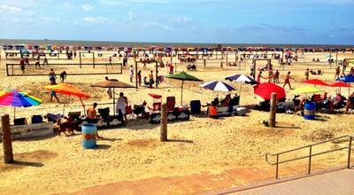 Photo of Beach Stewart Beach at Seawall Blvd., Galveston, TX 77550, United States