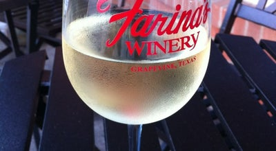 Photo of Wine Bar Farina's Winery & Cafe at 420 S Main St, Grapevine, TX 76051, United States