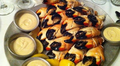 Photo of Seafood Restaurant Joe's Stone Crab at 11 Washington Ave, Miami Beach, FL 33139, United States