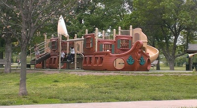 Photo of Playground Frontier Park at 15501 Indian Creek Pkwy, Olathe, KS 66062, United States
