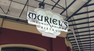 Photo of Cajun / Creole Restaurant Muriel's Jackson Square at 801 Chartres St, New Orleans, LA 70116, United States