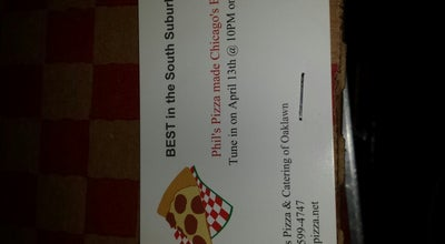 Photo of Pizza Place Phils Pizza at 8932 Ridgeland Ave, Oak Lawn, IL 60453, United States