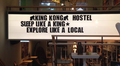 Photo of Hostel King Kong Hostel at Witte De Withstraat 72, Rotterdam 3012 BS, Netherlands