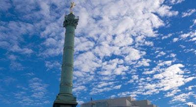 Photo of Plaza Place de la Bastille at Place De La Bastille, Paris 75004, France