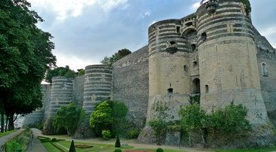 Photo of Castle Château d'Angers at Promenade Du Bout Du Monde, Angers 49000, France