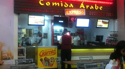 Photo of Middle Eastern Restaurant Casa da Esfiha at Av. Donato Quintino 90, Montes Claros 39400-546, Brazil