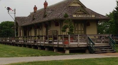 Photo of Historic Site St. Charles Train Depot at 415 S Main St, Saint Charles, MO 63301, United States