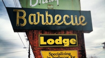Photo of American Restaurant Red Bridges Barbecue Lodge at 2000 E Dixon Blvd, Shelby, NC 28152, United States