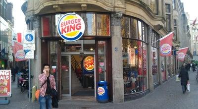 Photo of Fast Food Restaurant Burger King at Spuistraat 72, Den Haag 2511 BE, Netherlands