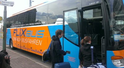 Photo of Bus Stop FlixBus Haltestelle at Mannheimer Str., Frankfurt am Main 60329, Germany