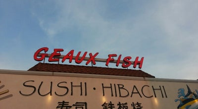 Photo of Asian Restaurant Geaux Fish at 1129 Audubon Ave, Thibodaux, LA 70301, United States