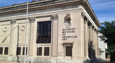 Photo of Art Museum Midwest Museum of American Art at 429 S Main St, Elkhart, IN 46516, United States