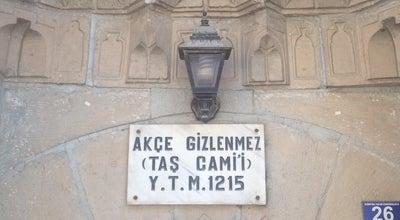 Photo of Mosque Akçe Gizlenmez (Taş) Camii at Meram, Konya, Turkey