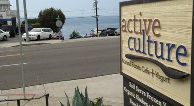 Photo of Dessert Shop Active Culture Yogurt And Health Bar at 1006 S Coast Hwy, Laguna Beach, CA 92651, United States