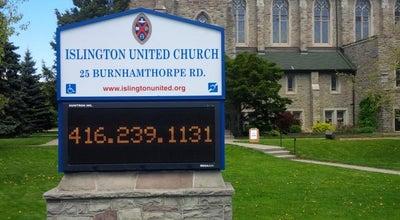 Photo of Church Islington United Church at 25 Burnhamthorpe Road, Toronto, ON, Canada