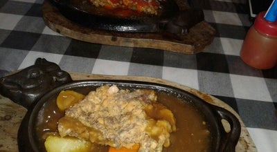 Photo of Steakhouse Latare Steak Hot Plate at Jalan Sultan Agung, Ponorogo, Indonesia
