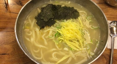 Photo of Ramen / Noodle House 일산칼국수 at South Korea
