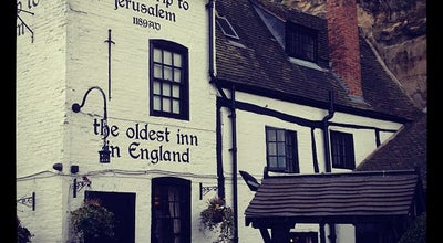 Photo of Pub Ye Olde Trip to Jerusalem at 1 Brewhouse Yard, Nottingham NG1 6AD, United Kingdom