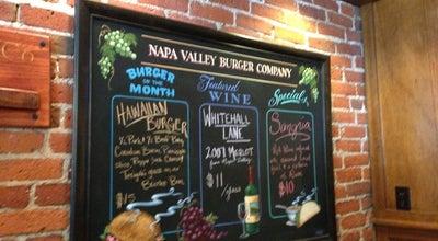 Photo of Burger Joint Napa Valley Burger at 670 Bridgeway, Sausalito, CA 94965, United States