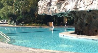 Photo of Hotel Pool The Mirage Pool & Cabanas at 3400 Las Vegas Blvd S, Las Vegas, NV 89109, United States